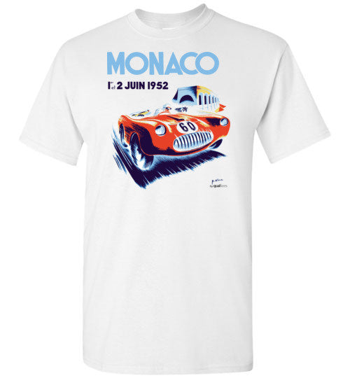Monaco GP 1952 (edytowany) - Unisex / Men / Children Cotton T-Shirt