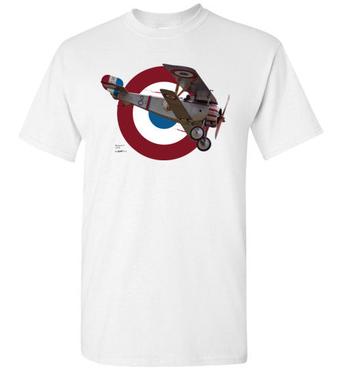 WWI - Nieuport 17 - Camiseta de algodón Unisex / Men / Children