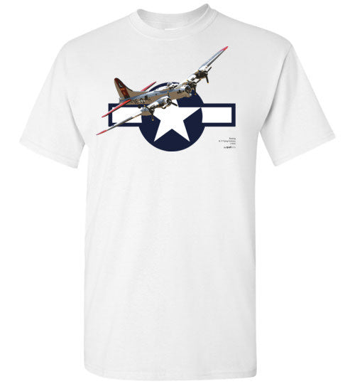II wojna światowa - B-17 Flying Fortress - Unisex / Men / Children Cotton T-Shirt