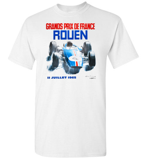 Rouen GP 1965 - Unisex / Men / Children Cotton T-Shirt