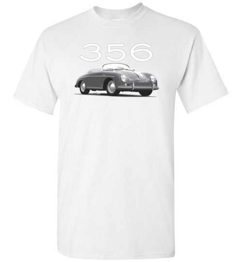356 Speedster (B & W) - Unisex / Men / Children Cotton T-Shirt