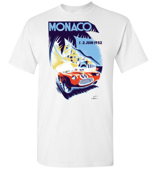 Monaco GP 1952 - Unisex / Men / Children Cotton T-Shirt
