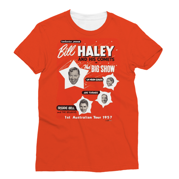 Bill Haley and his Comets - Polyester T-Shirt