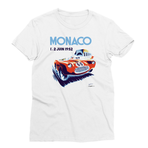 Monaco GP 1952 (edited) - Polyester T-Shirt
