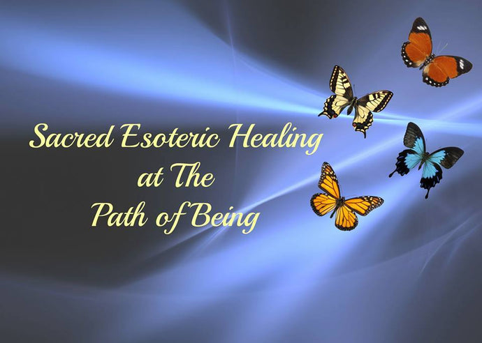 I am a Esoteric Healing Practitioner...
