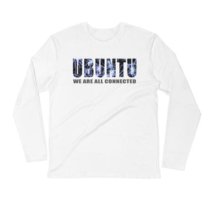 UBUNTU (We are all connected) - Long Sleeve Fitted Crew