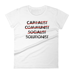 Solutionist (Women's short sleeve t-shirt)