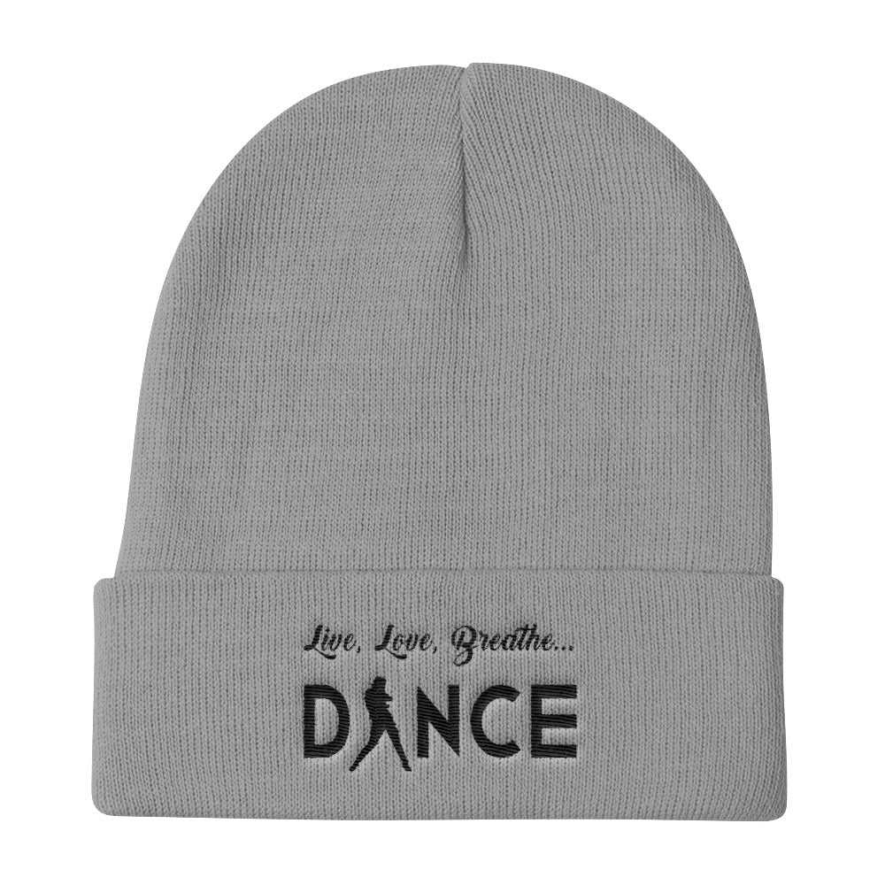 Live, Love, Breathe, Dance (Knit Beanie)