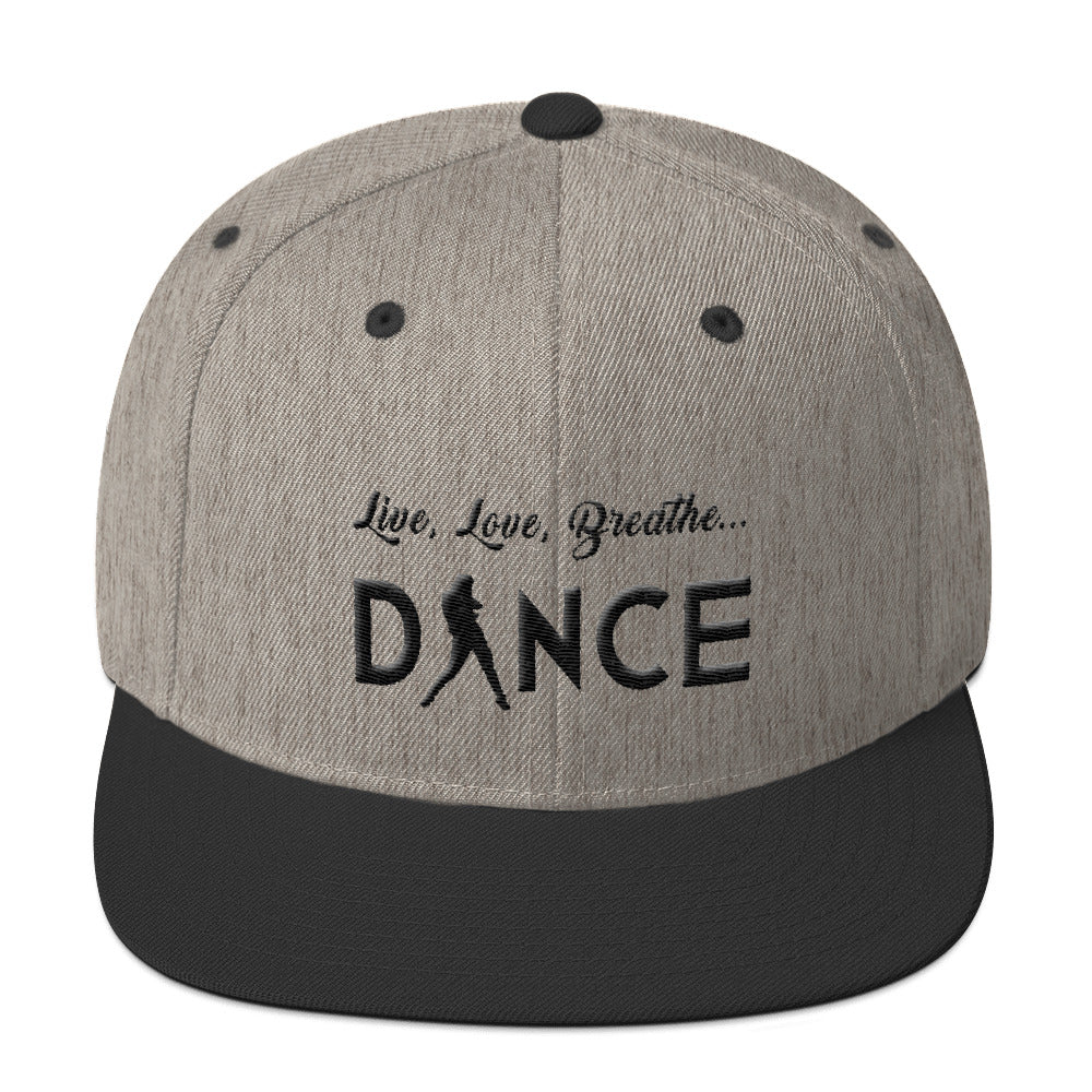 Live, Love, Breathe, Dance (Snapback Hat)