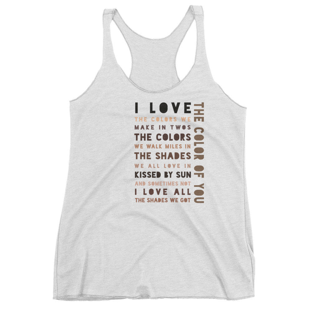 The Color of You (Women's tank top)