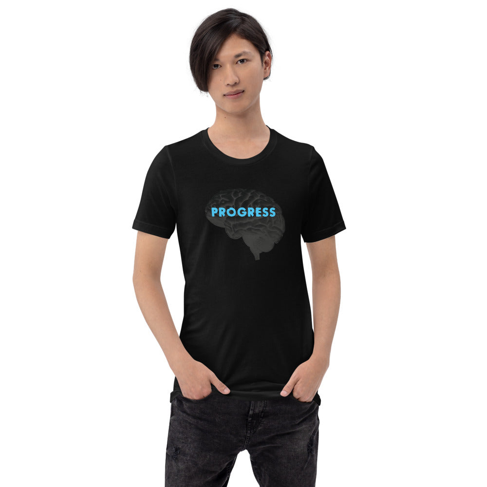 Progress - Future Brain Series (Short-Sleeve Unisex T-Shirt)