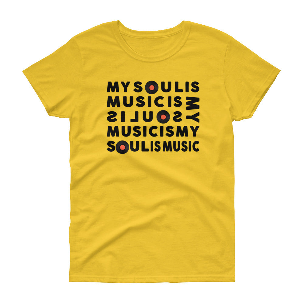 My Soul Is Music (Women's short sleeve t-shirt)