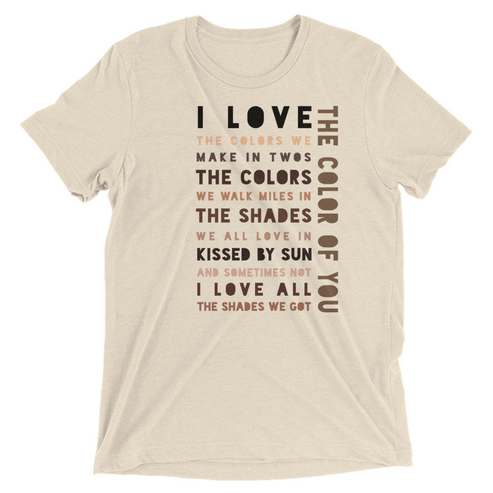 The Color of You (Bella + Canvas Men's T up to 3XL)