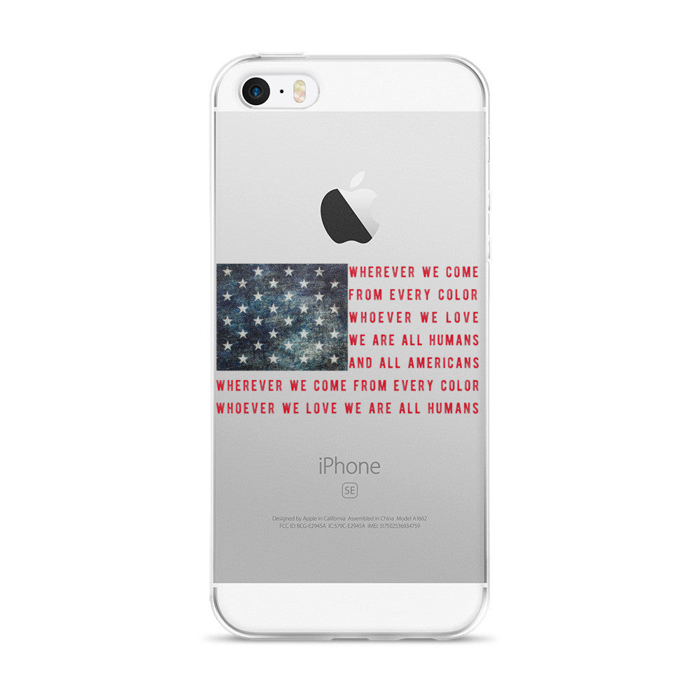 America Phone Case (iPhone 5/5s/Se, 6/6s, 6/6s Plus Case)