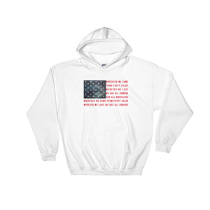 America (Unisex Hooded Sweatshirt)