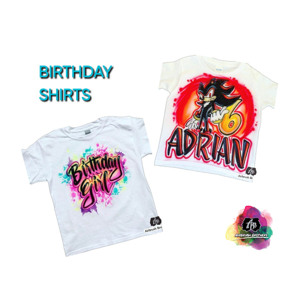 Birthday Shirts