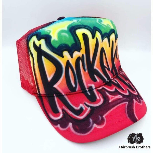 airbrush custom spray paint  Airbrush Graffiti Hat | Paint Splatter Design shirts hats shoes outfit  graffiti 90s 80s design t-shirts  AirbrushBrothers Hats
