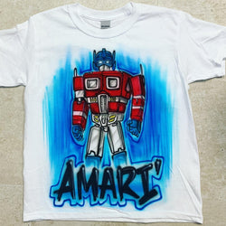 airbrush custom spray paint  Airbrush Transformers Shirt Design shirts hats shoes outfit  graffiti 90s 80s design t-shirts  AirbrushBrothers Shirt