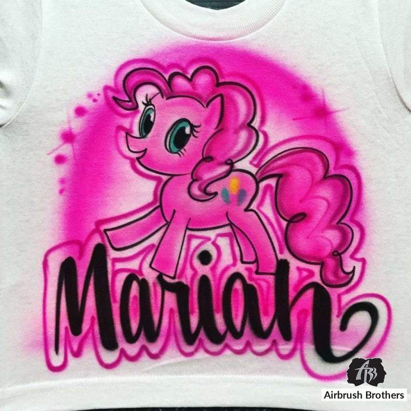 airbrush custom spray paint  My Little Pony Shirt Design shirts hats shoes outfit  graffiti 90s 80s design t-shirts  AirbrushBrothers Shirt