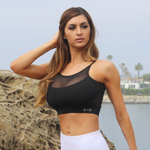 LeisureLetics Mesh Sports Bra