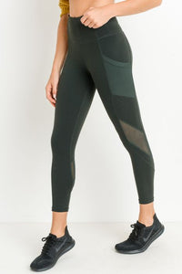 Yoga Pants - RainForest
