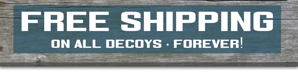 Free Shipping on Bulk Decoys