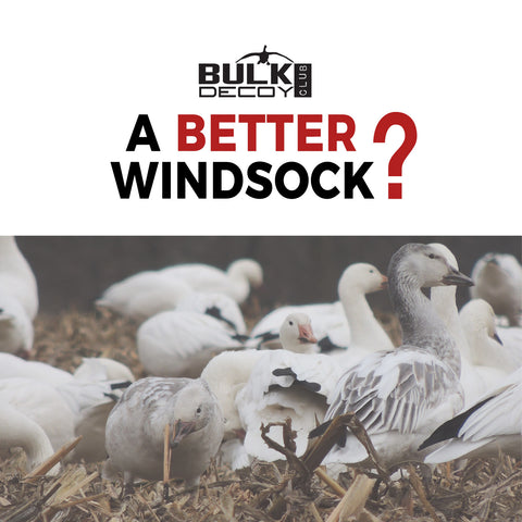 The Best Windsock Snow Goose Decoy