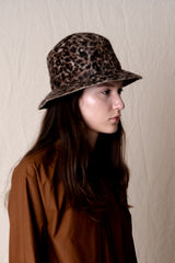BUCKET HAT IN SHAG FELT