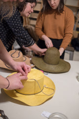 HAT MAKING CLASS | APRIL 27TH