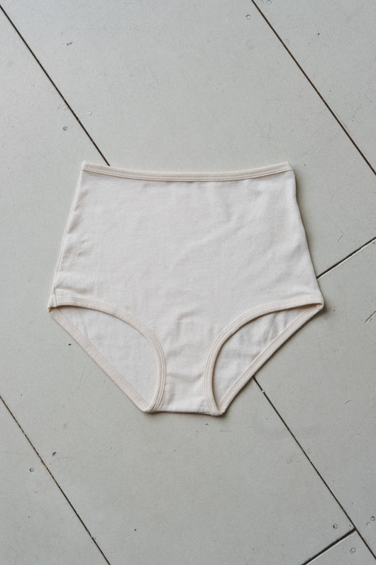HIGH RISE UNDIES IN COTTON