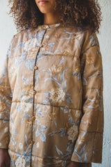 ROSE PRINTED COAT