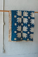 ANTIQUE BEAR'S PAW FAT QUILT