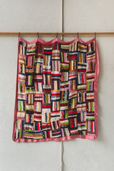 ANTIQUE SILK QUILT