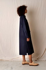 NEW SAFARI DRESS IN NAVY