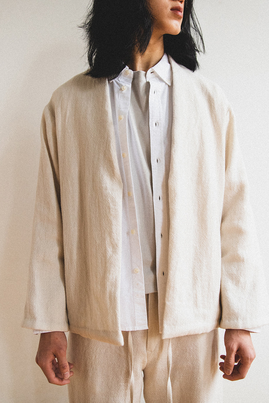 SOFT JACKET IN BEIGE