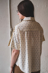 FINLAY TOP IN MUSLIN BLOCK PRINT
