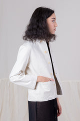 KRASNER JACKET IN NATURAL DUCK CANVAS