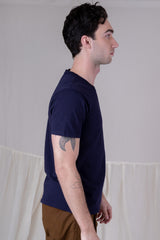 CLARK POCKET TEE IN NAVY