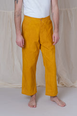 BRITISH JEANS IN JACKFRUIT YELLOW