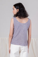 VINTAGE STRIPED TERRY TANK