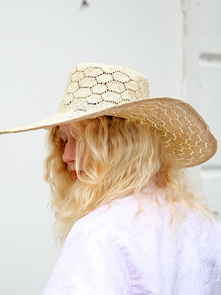 OPTIMO PACKABLE HAT IN HONEYCOMB