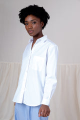 BASIC SHIRT IN WHITE POPLIN
