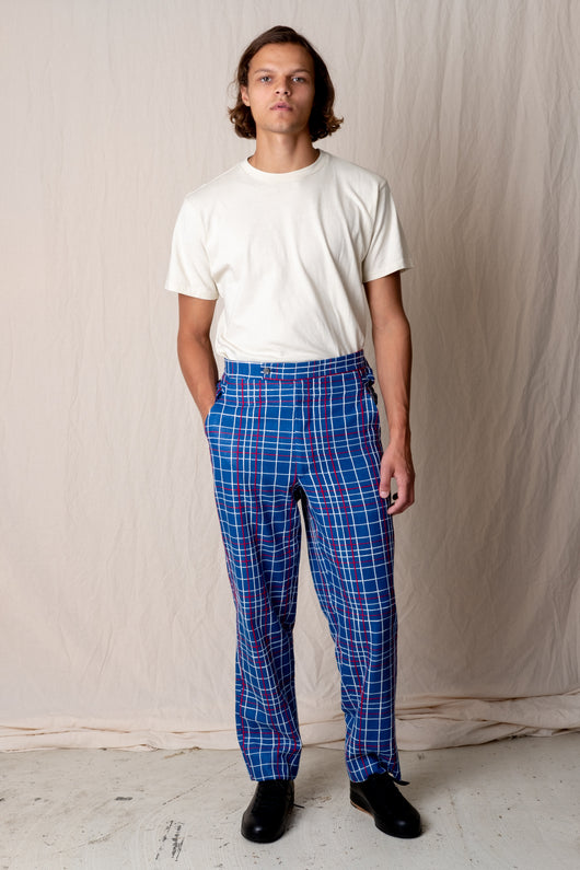ALDEN SIDE-TIE TROUSER