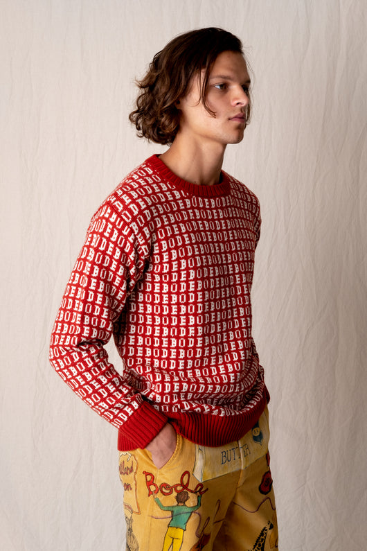 BODE SIGNATURE SWEATER