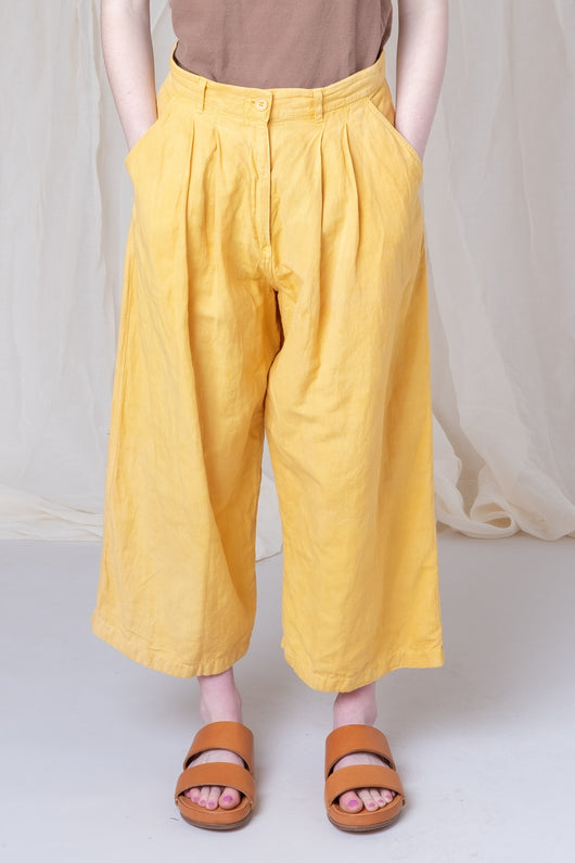 CEREAL TROUSER IN JACKFRUIT YELLOW