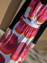 VINTAGE PATTERNED APRON DRESS
