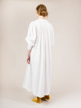 VINTAGE EDWARDIAN WHITE DRESS B