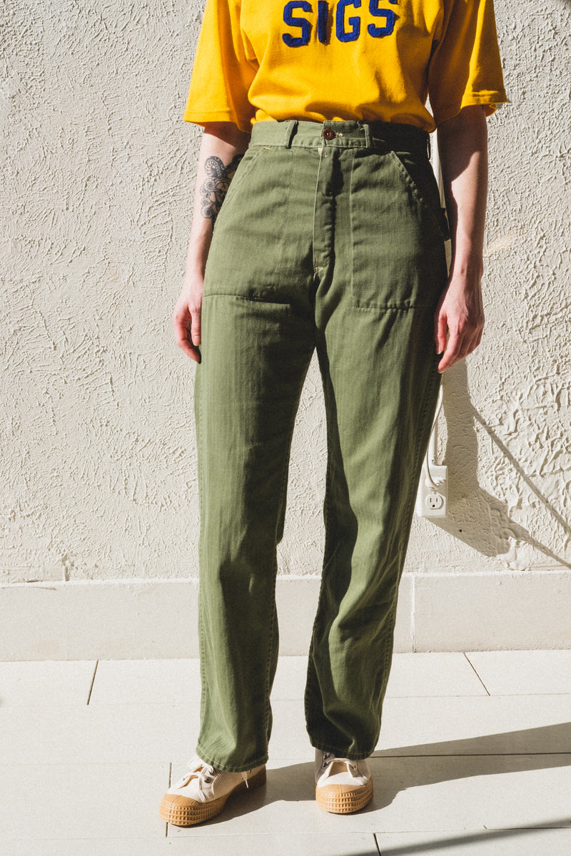 VINTAGE MILITARY PANTS 01 – Shop Boswell 212b1709328