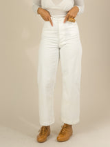 VINTAGE WHITE SAILOR PANTS F