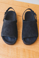 ONE STRAP SANDAL IN BLACK